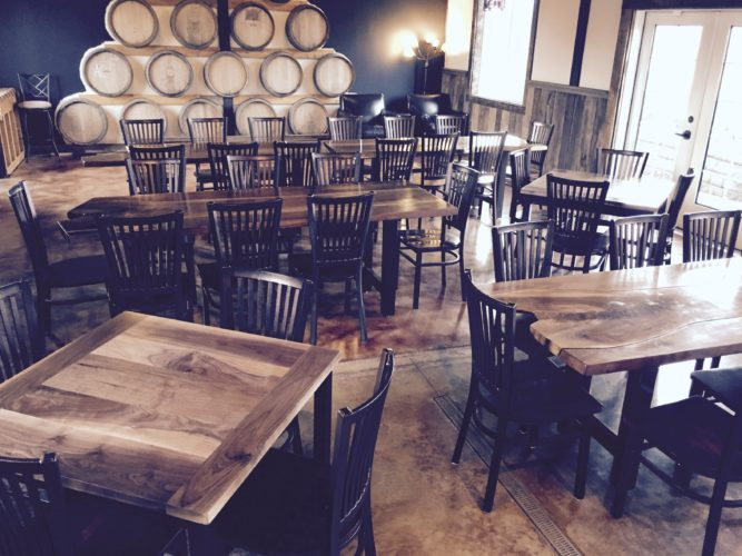Aurora Colony Vineyards tasting room