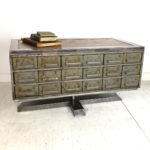 vintage industrial custom furniture collection