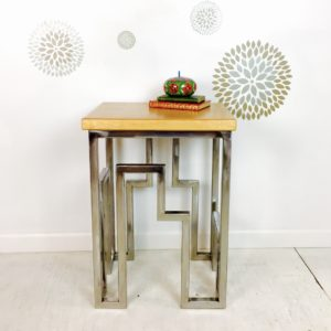 skyline side table